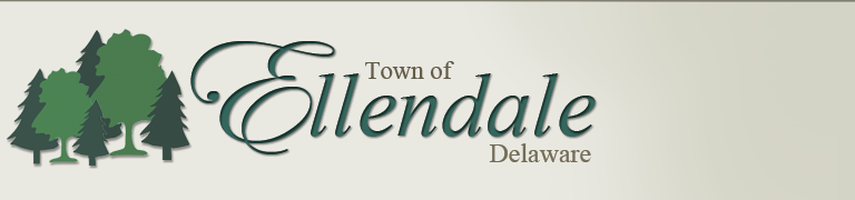 The town of Ellendale, Delaware